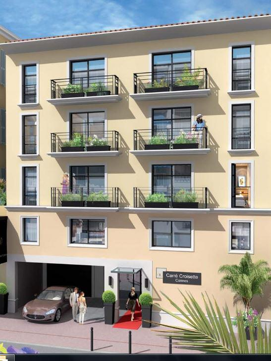 T3 103M2 2 CHAMBRES TERRASSE CANNES