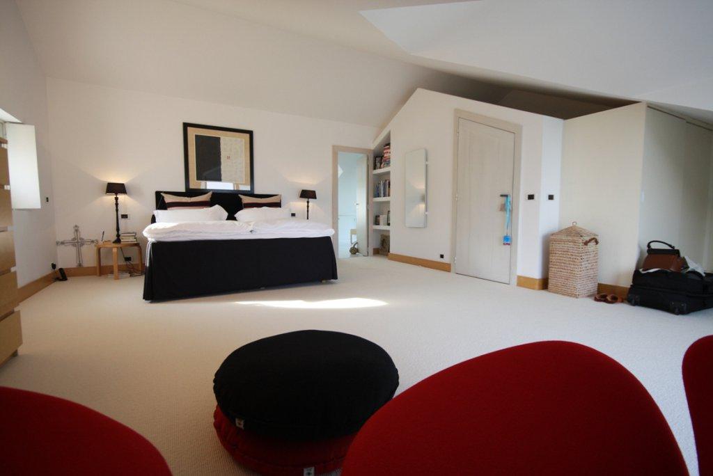 bedroom of thr top floor