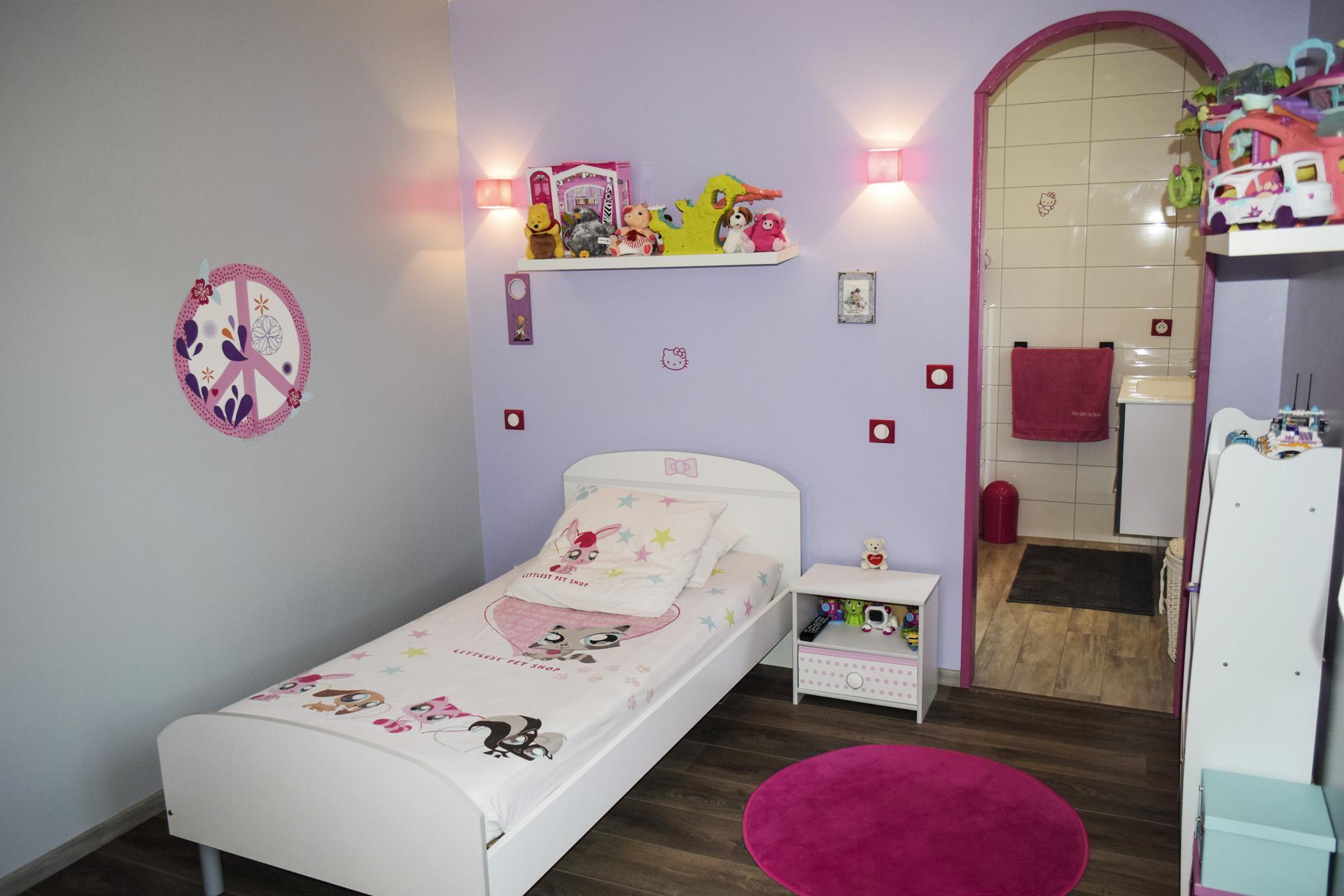 Bedroom in suite Tourtour Var Provence