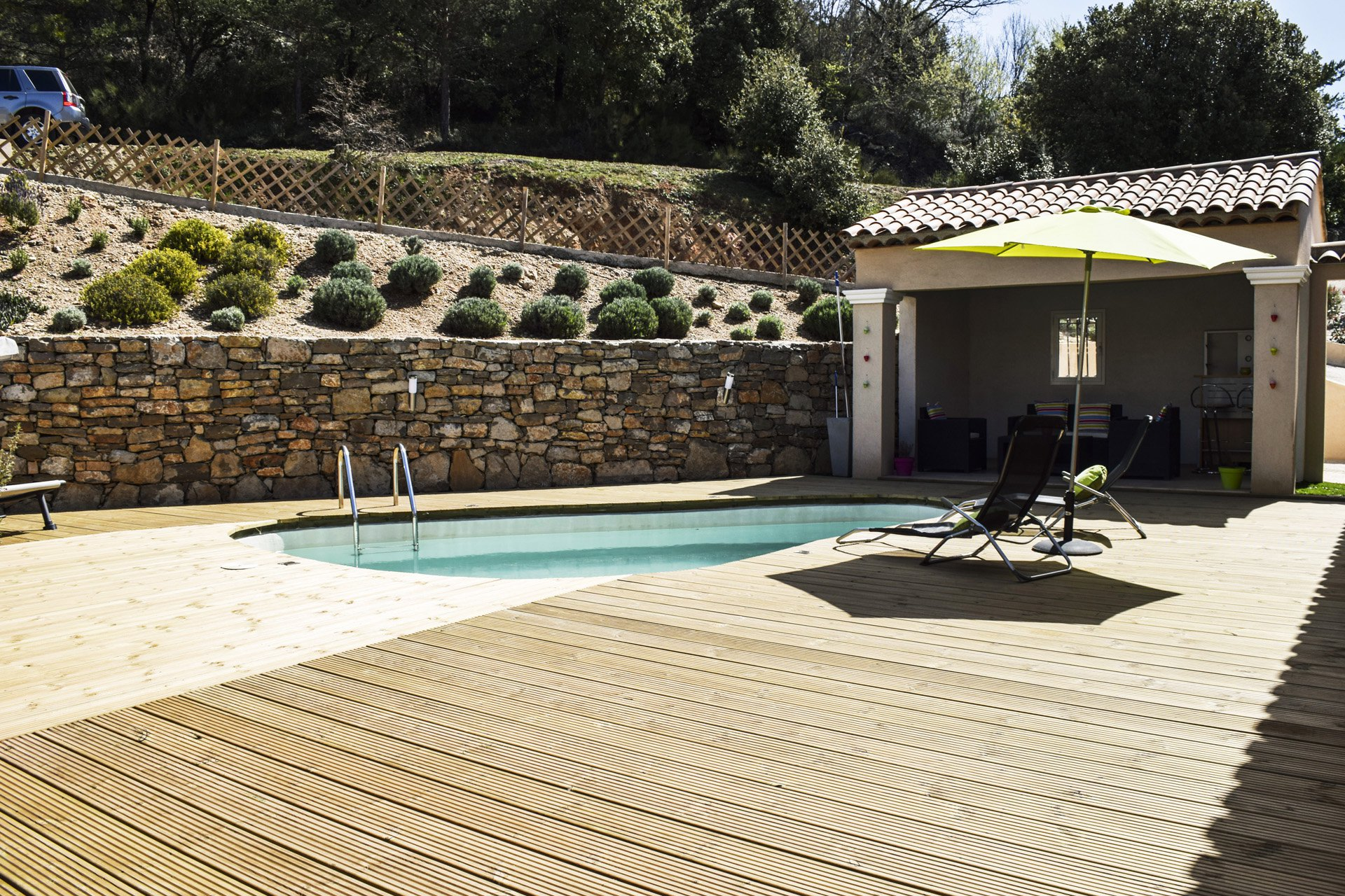 Pool with pool house, Tourtour Var Provence