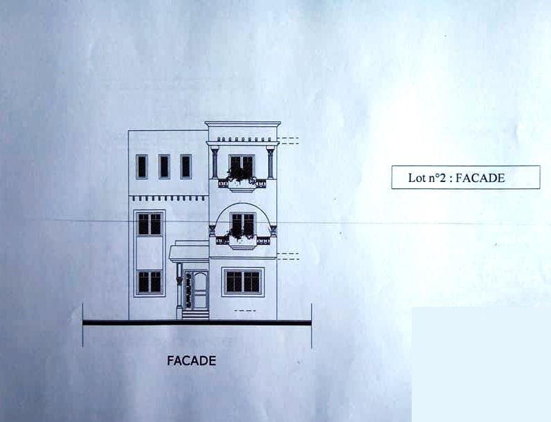 Belle villa jumelée neuve plus 218m2 avec 4 chambres jardin
