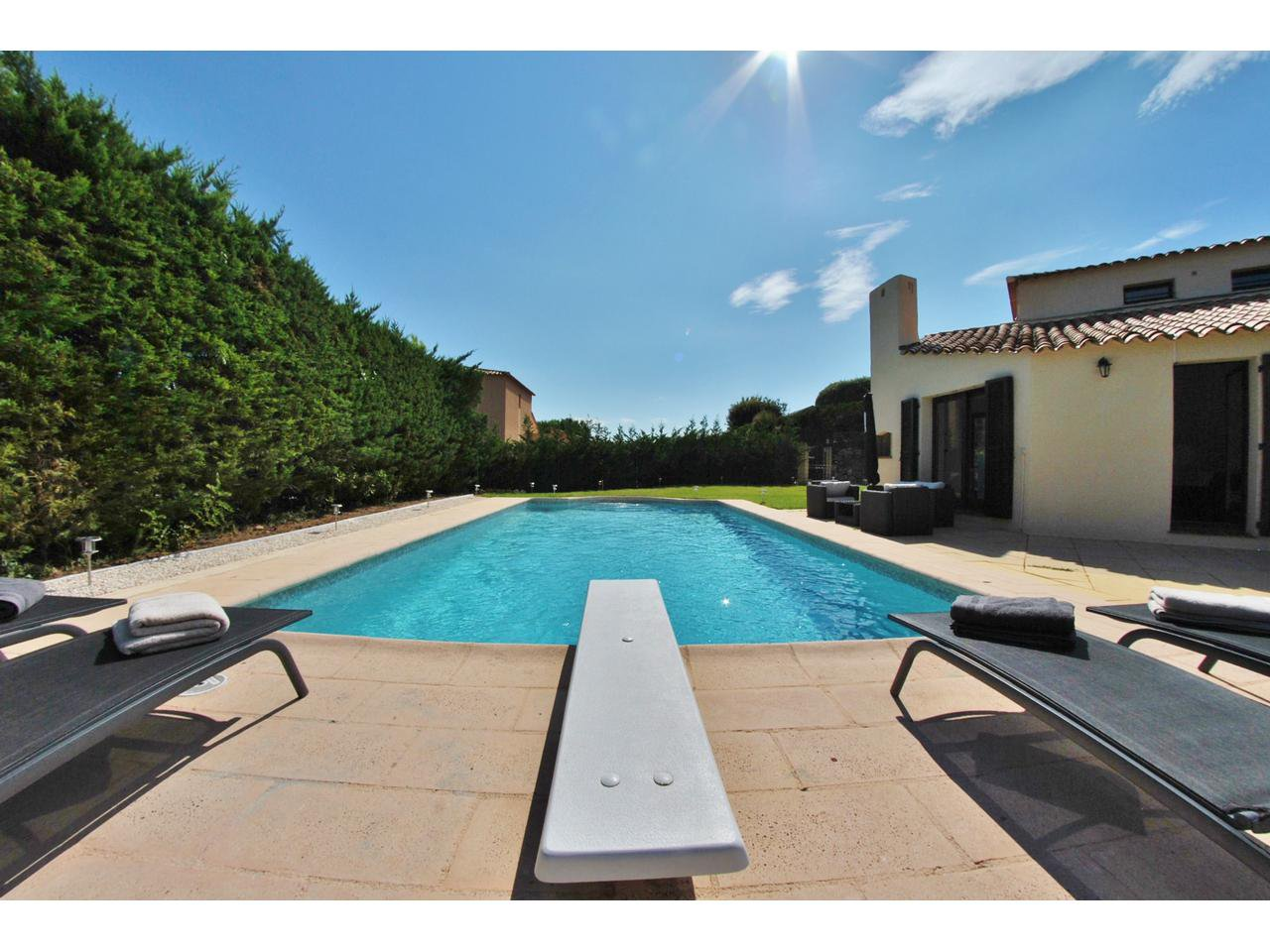 Seasonal rental House - Villeneuve-Loubet