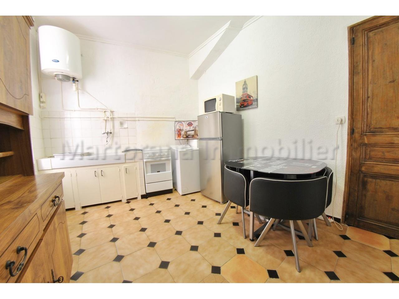 Studio for 4 people in the Old town