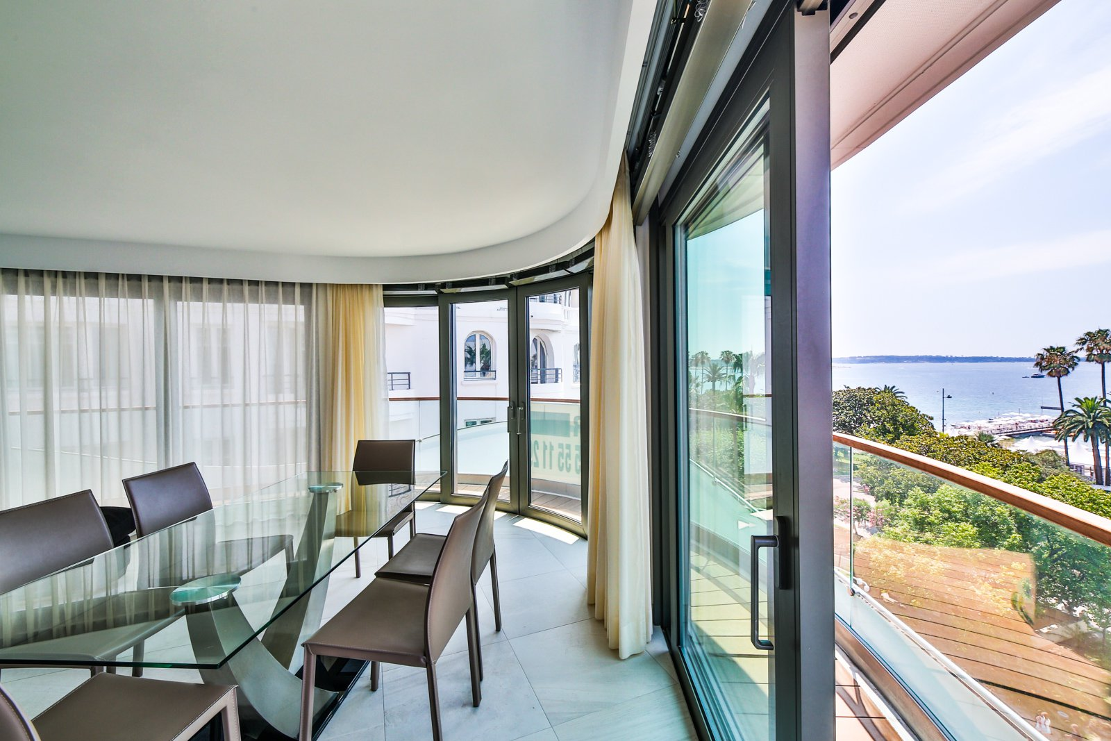 Seasonal rental Apartment - Cannes 7 Croisette - N°602