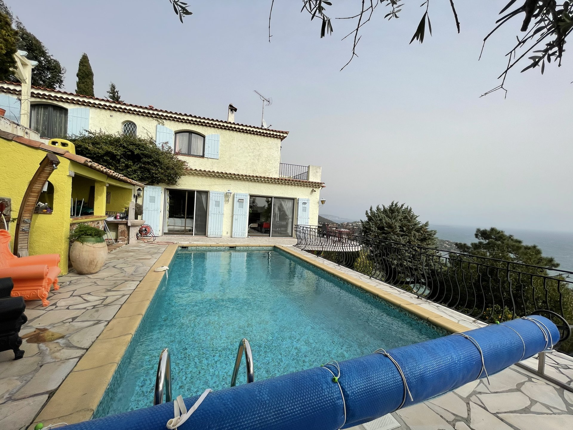Villa 8 rooms with panoramic sea view