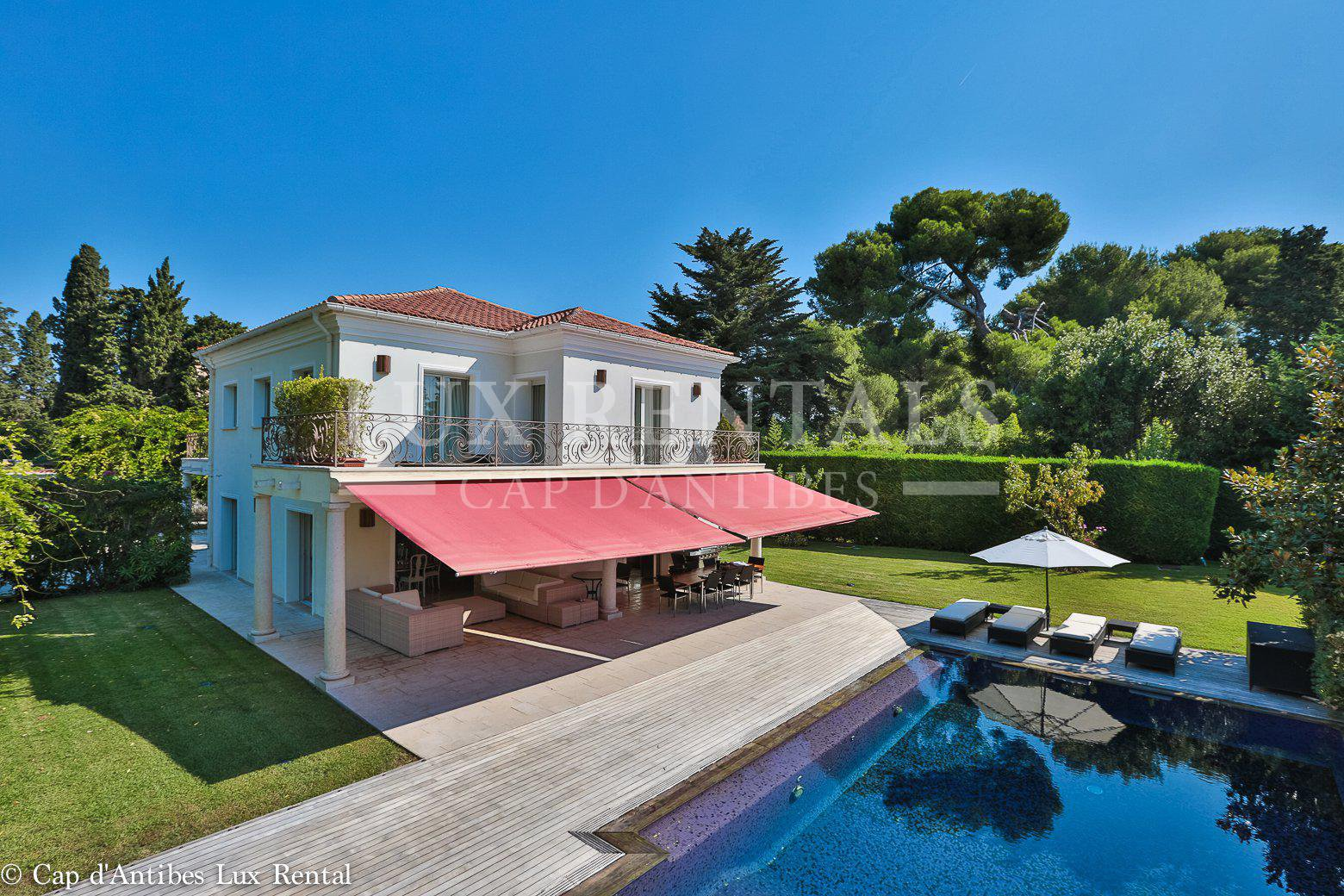 Villa 7 rooms Cap d'Antibes