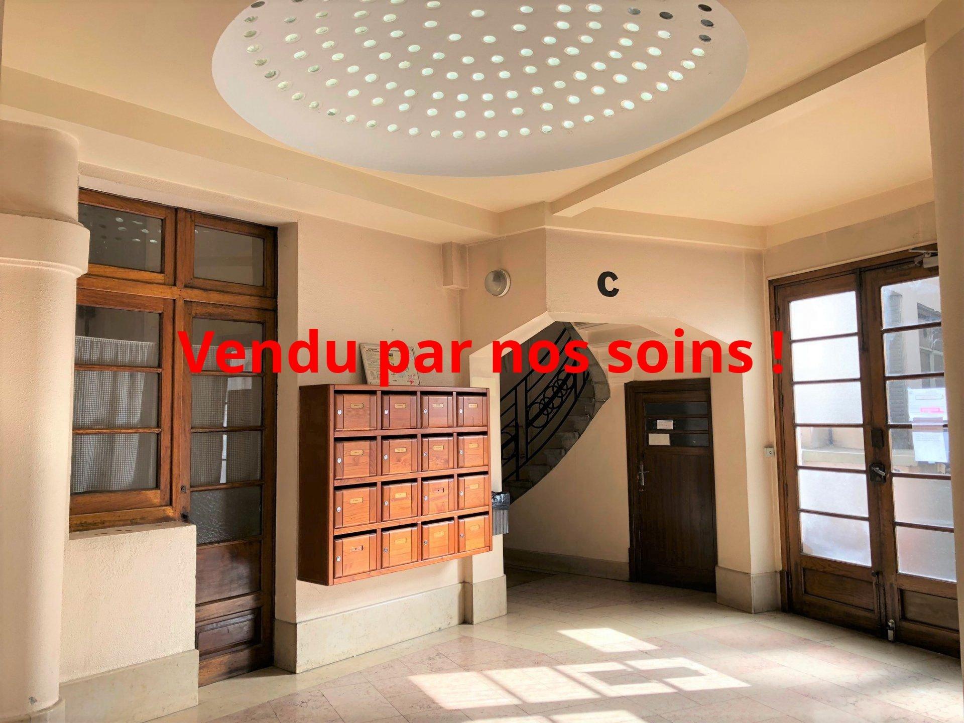 Hall de l'immeuble style Art Déco