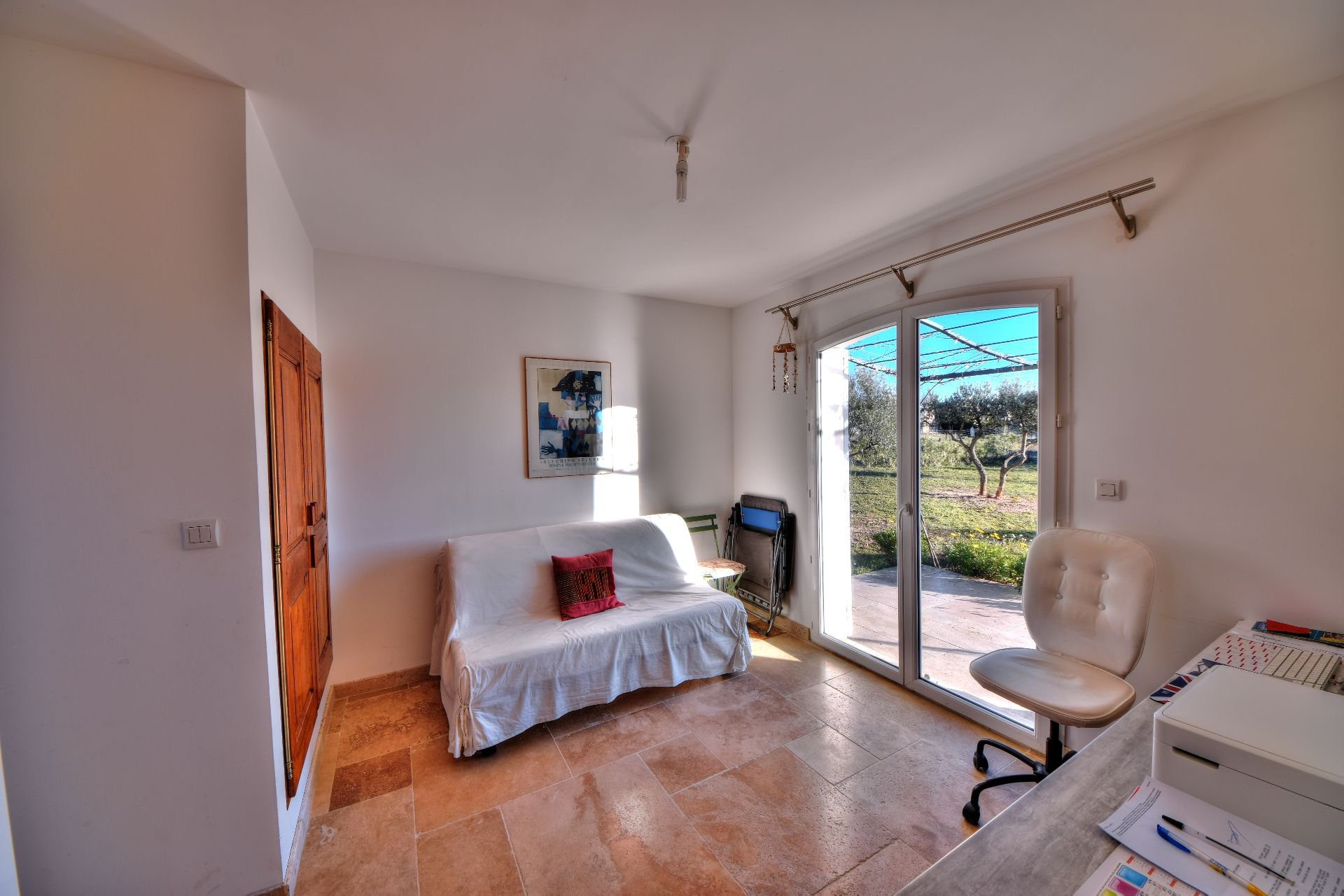 Room with bathroom on the ground floor of the bastide 4 rooms with swimming pool Aups, Var, Provence
