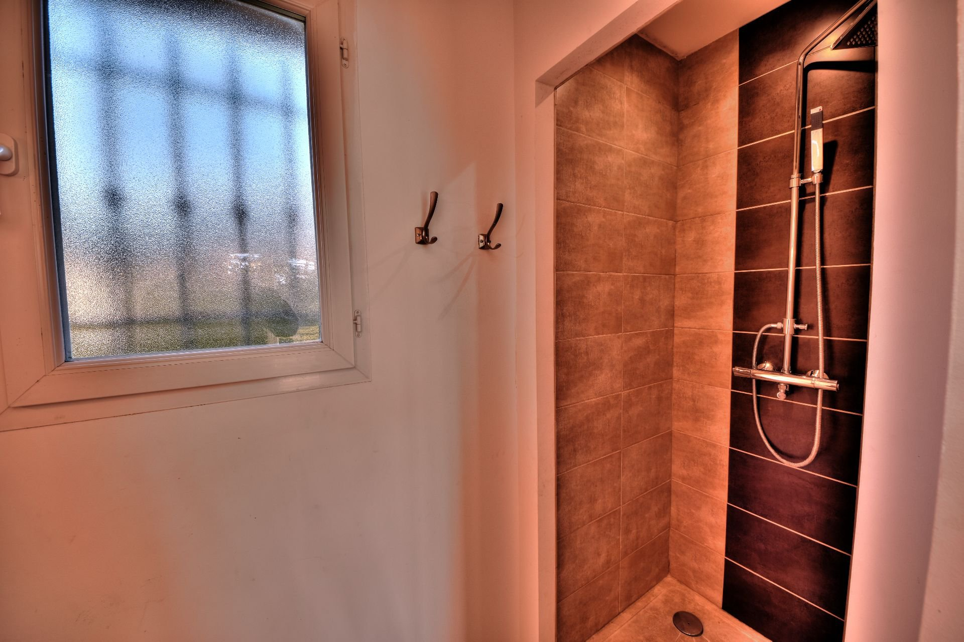 Shower room in rdc of the bastide 4 rooms with swimming pool Aups, Var, Provence
