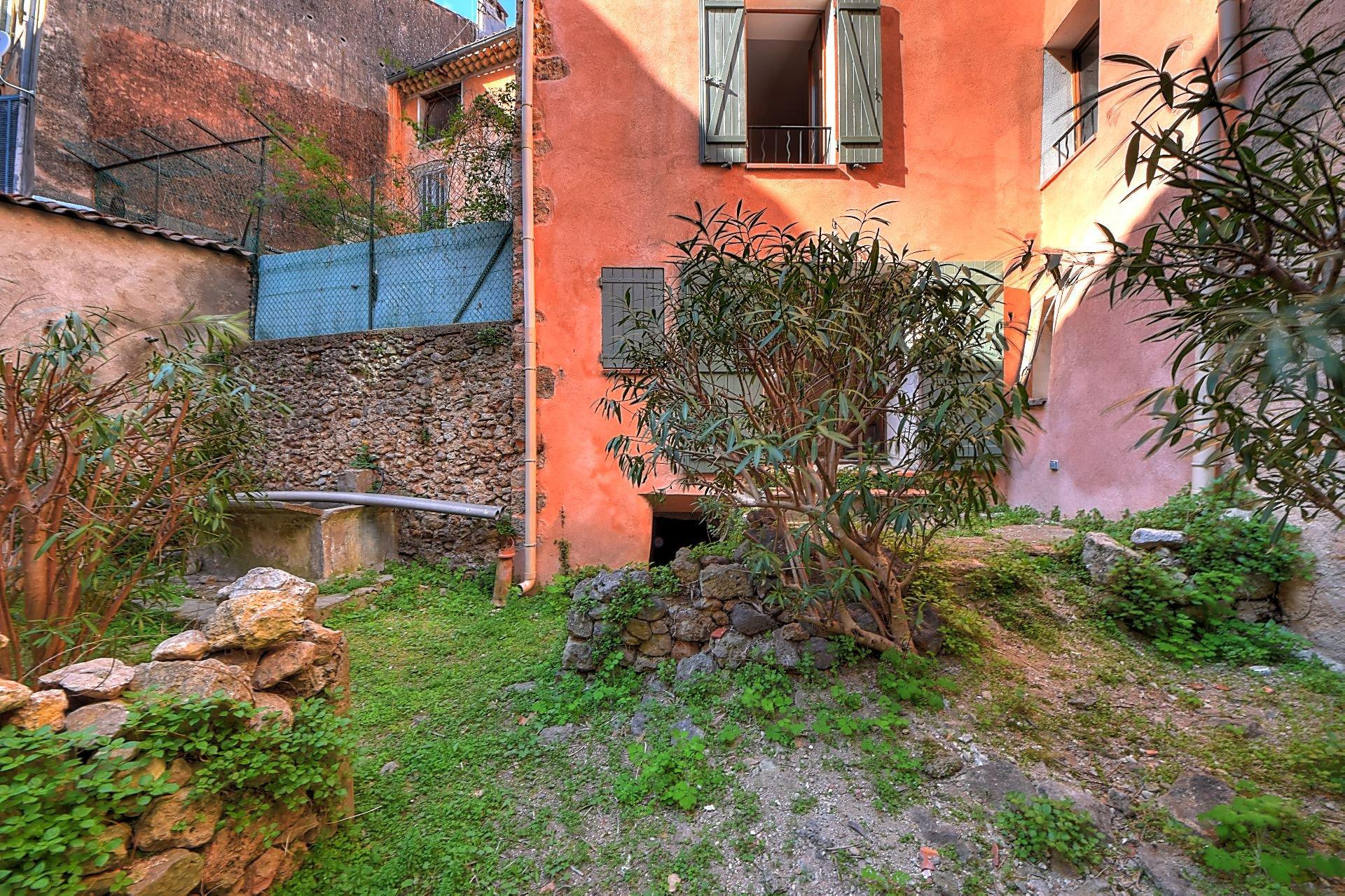 Vente maison de village avec jardin