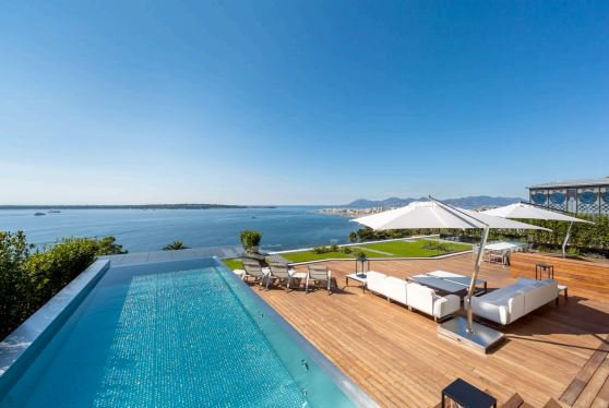 5 rooms apartment Cannes Californie, beautiful sea view