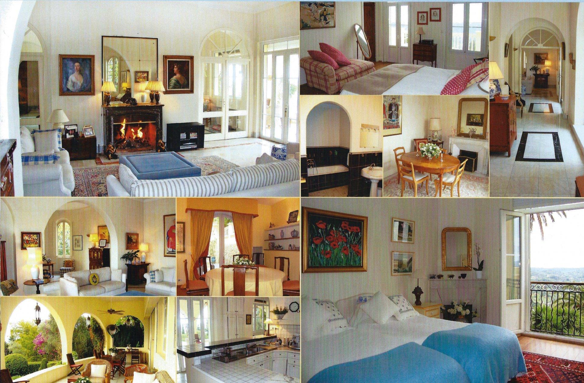 grasse st jean rare maison de parfumeur avec vue mer. Black Bedroom Furniture Sets. Home Design Ideas