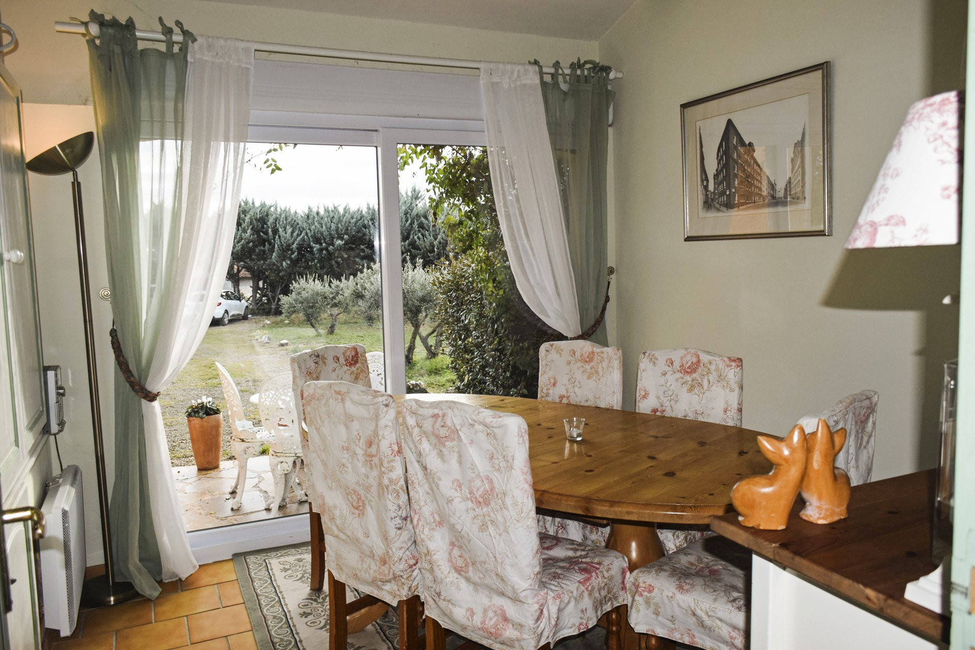 dining room peaceful country house with pool aups var provence verdon