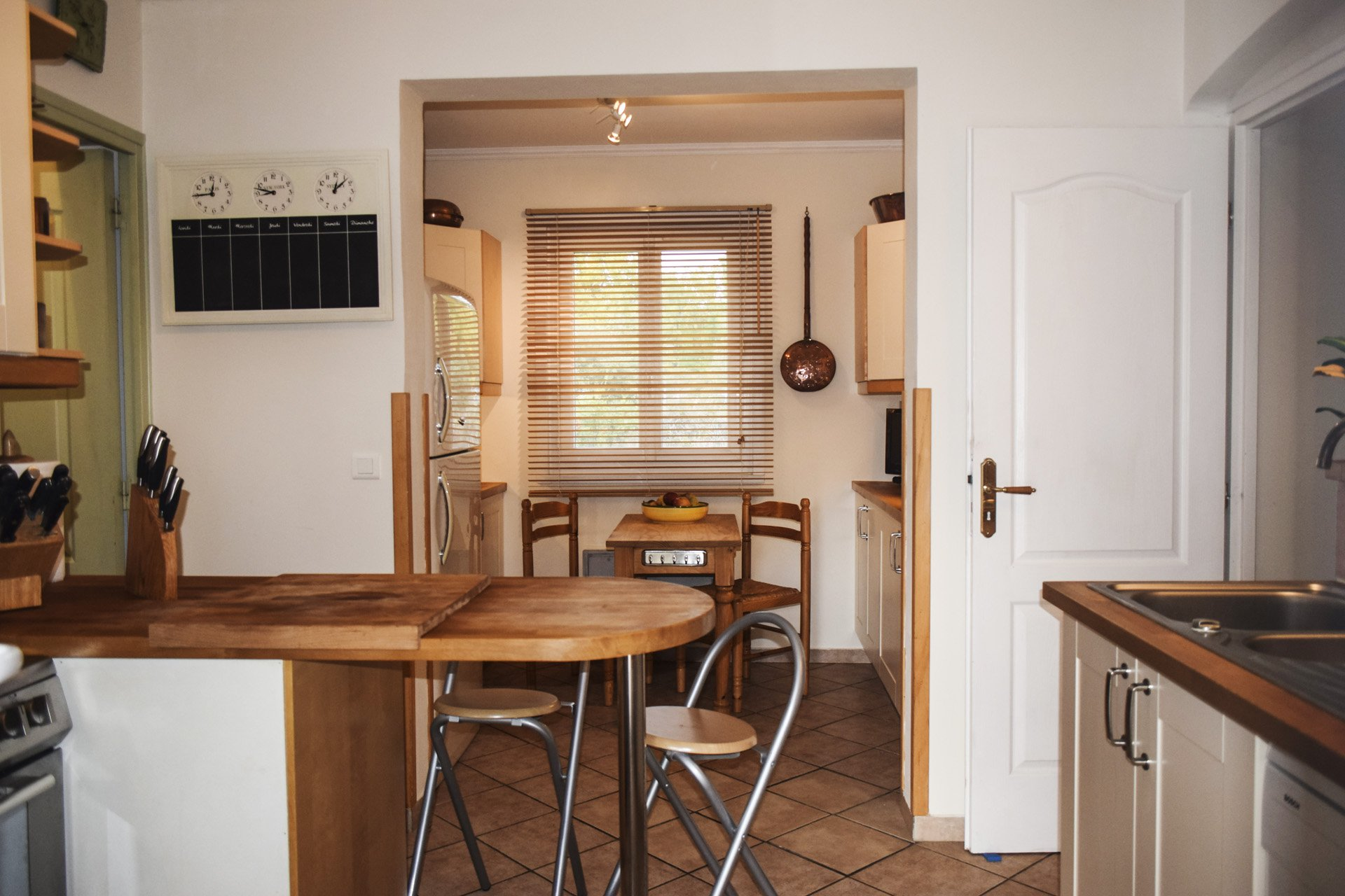 kitchen 1 peaceful country house with pool aups var provence verdon