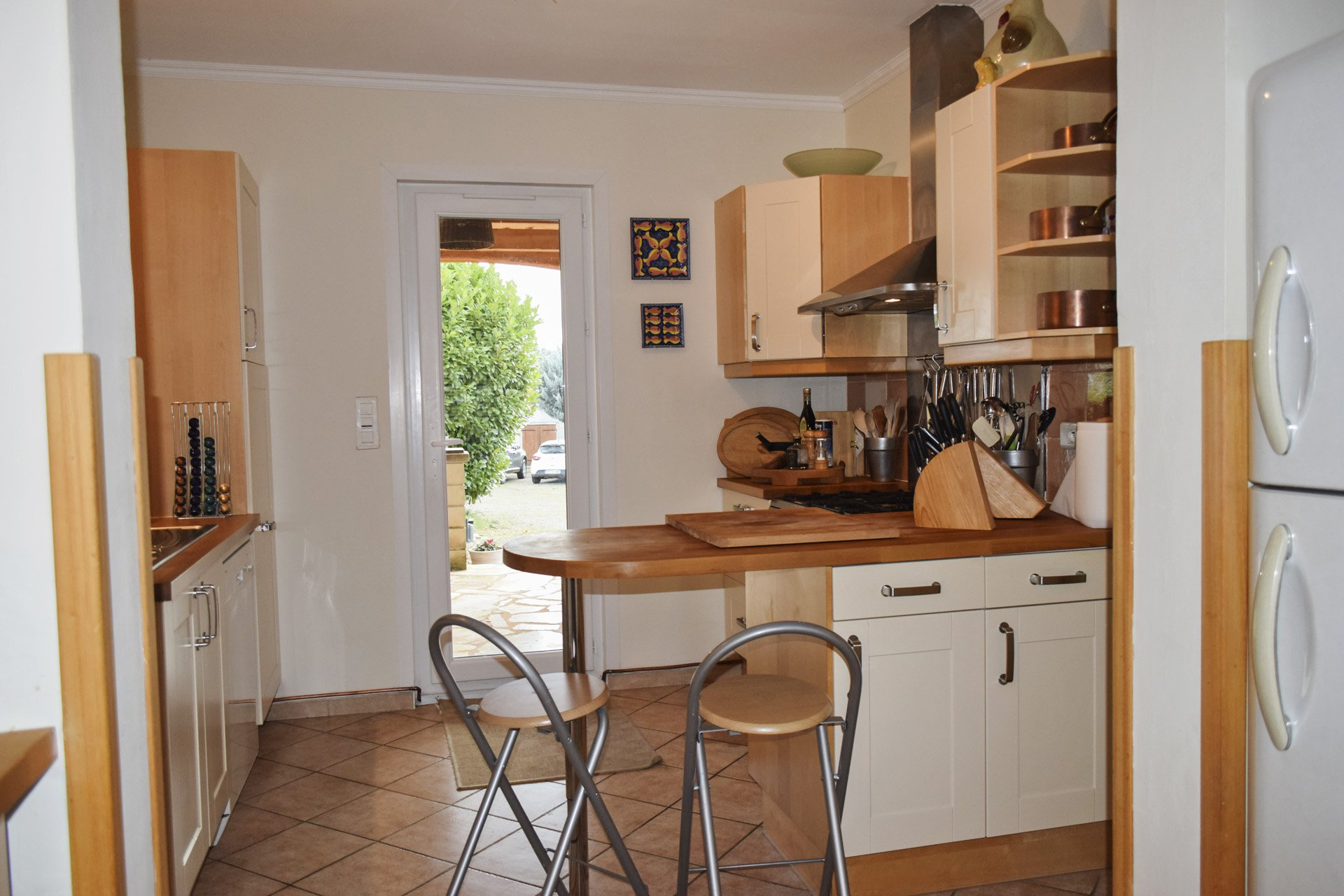 kitchen 2 peaceful country house with pool aups var provence verdon