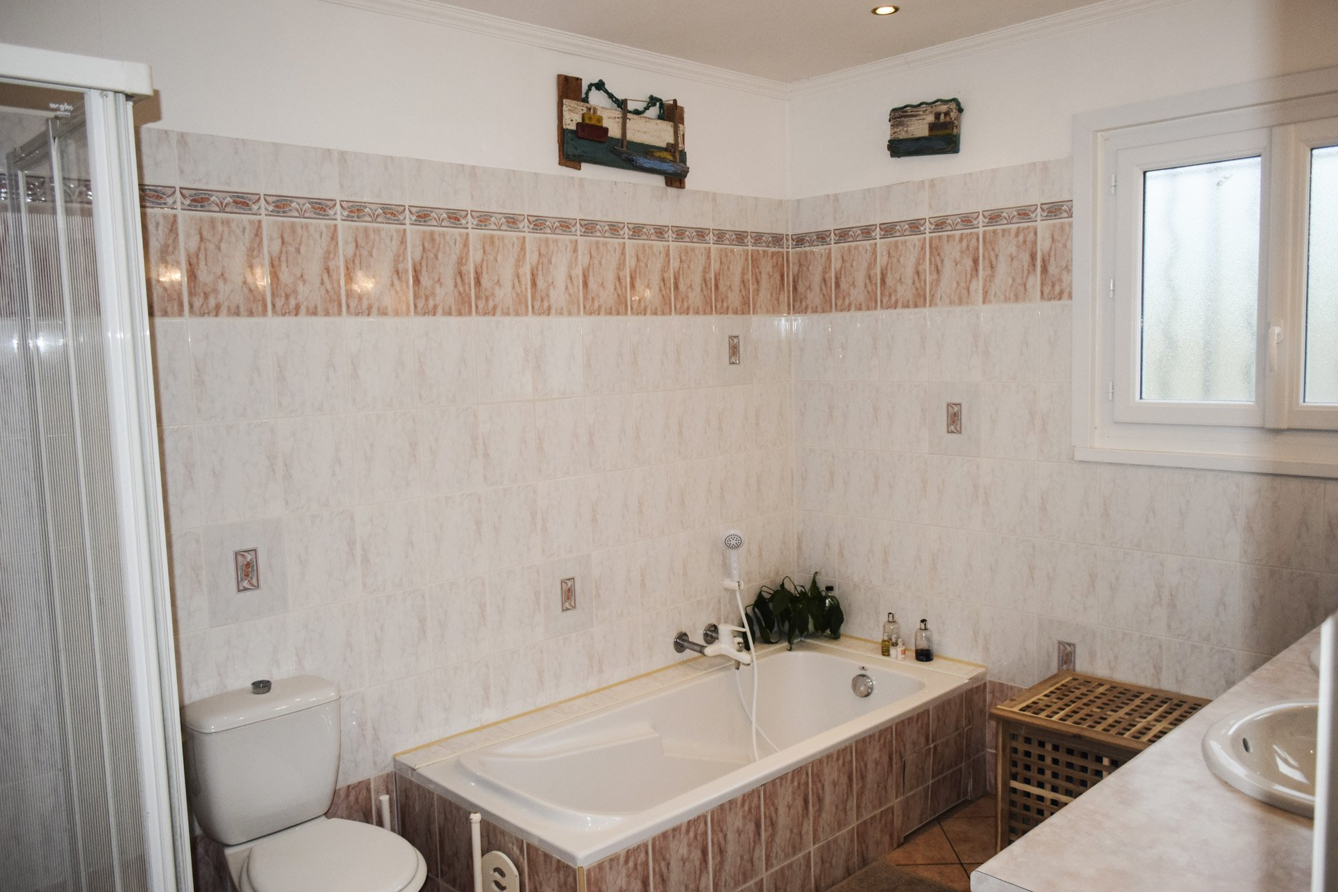 bathroom peaceful country house with pool aups var provence verdon