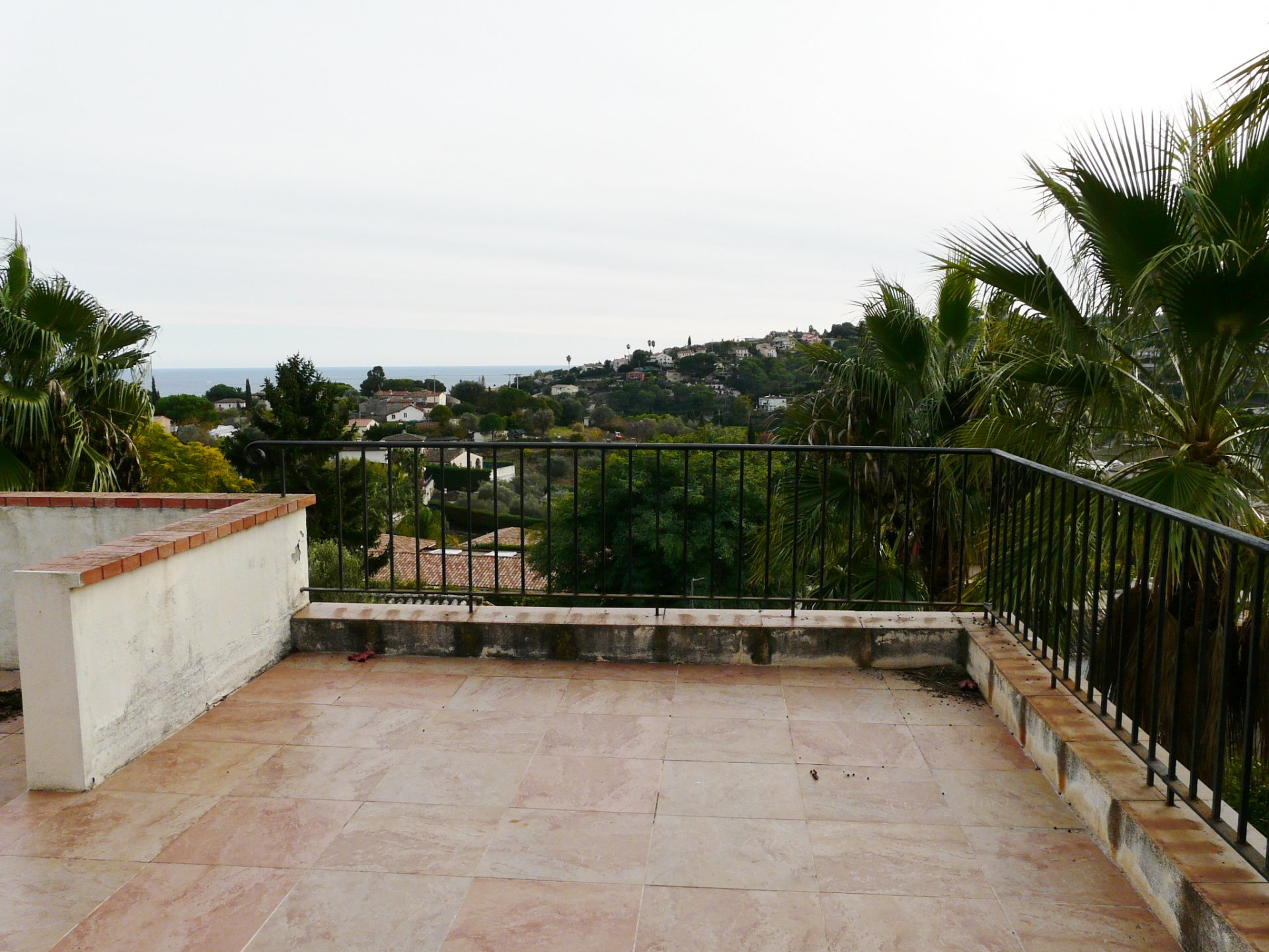 Terrasse au premier