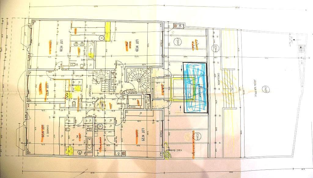 Centre ville 6p duplex plan