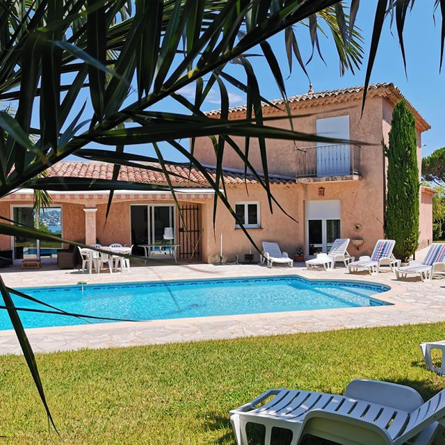 VERY NICE 6 BEDROOM VILLA STE MAXIME WITH POOL