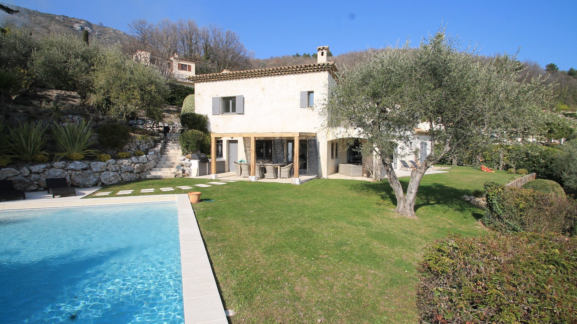 Villa In Tourrettes Sur Loup With Stunning Views