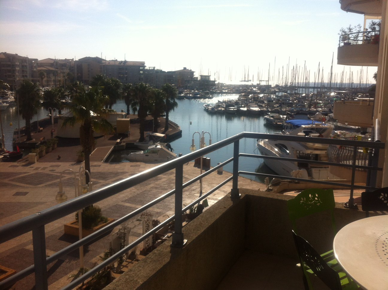 3-room apartment with sea view in Port-Fréjus