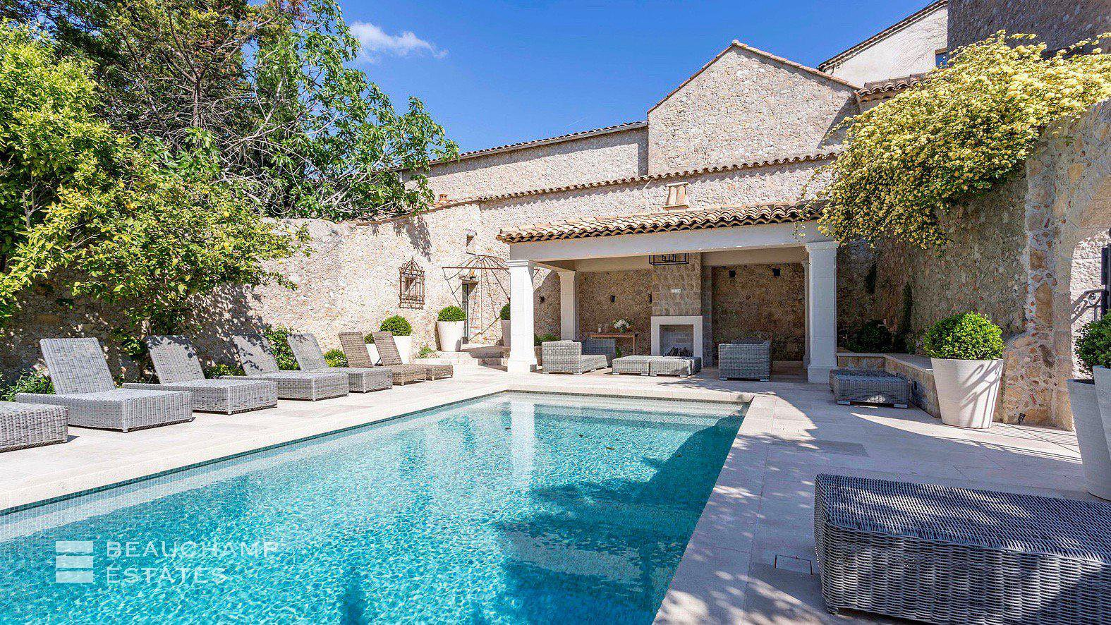 Unique Property in the Heart of the Village of Mougins