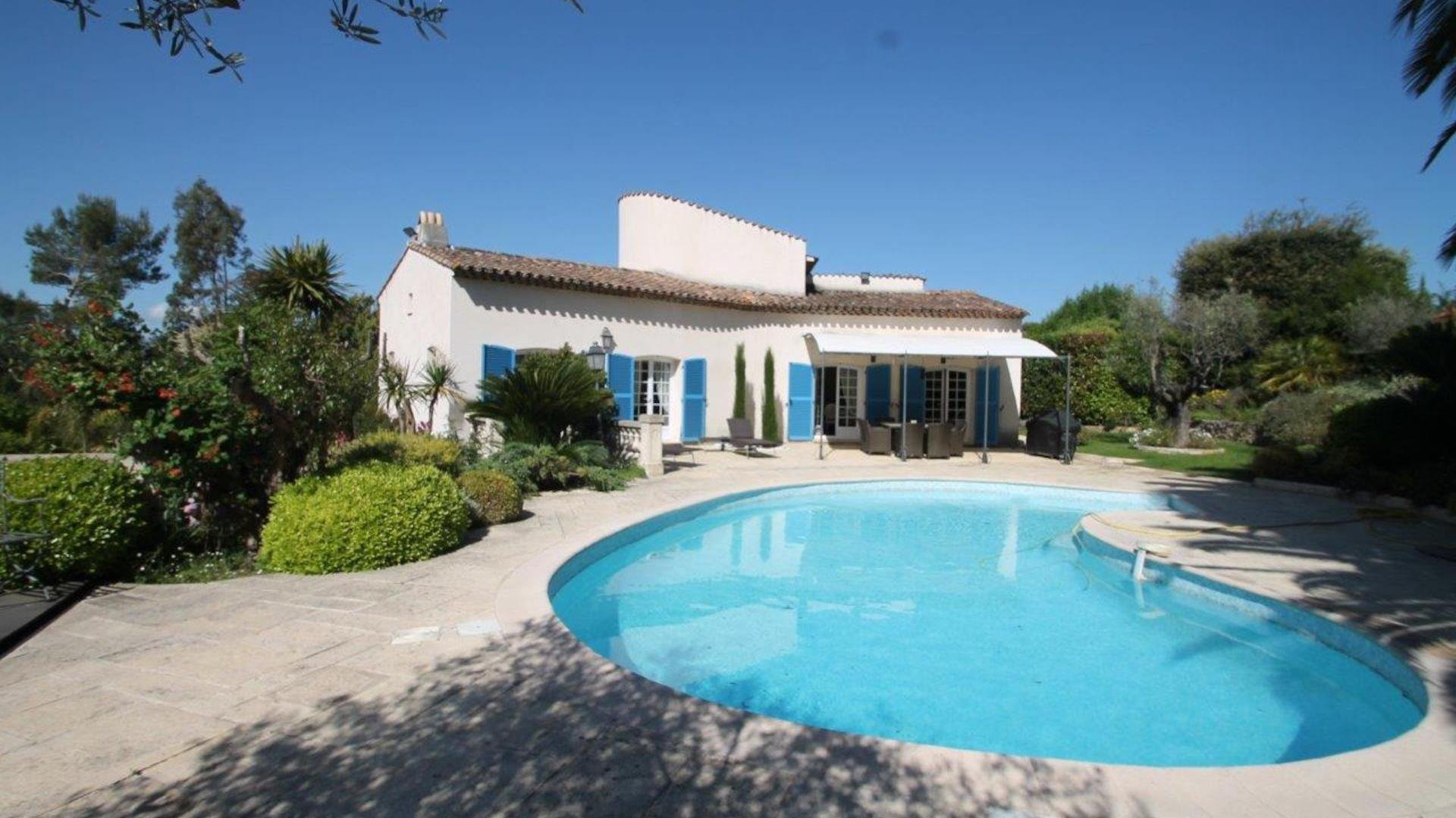 Provencale Villa with Pool in Valbonne