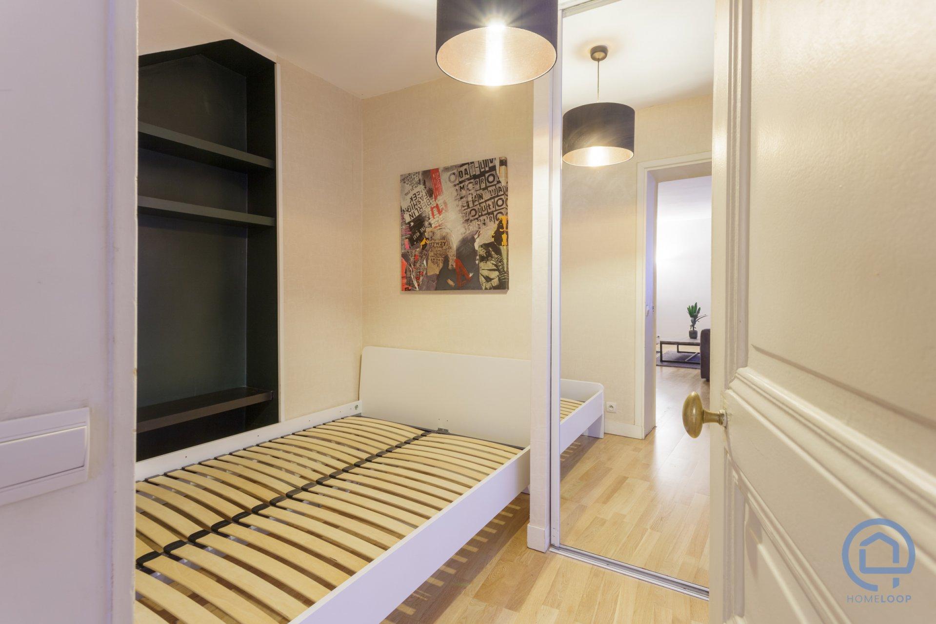 Appartement T3 calme dans le centre de Paris