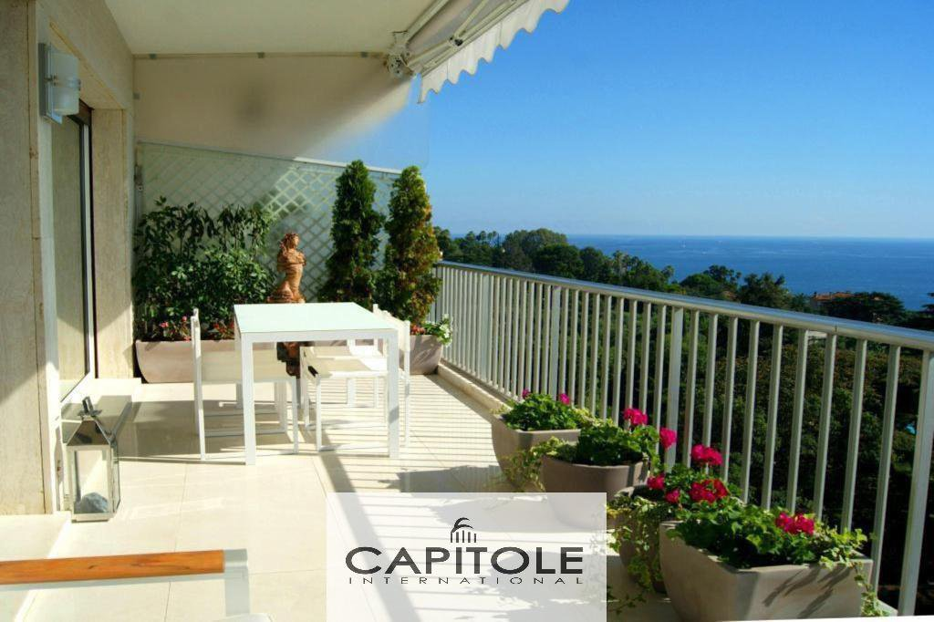 Cannes Californie see view 2 bed flat 104m² terrace south garage pool