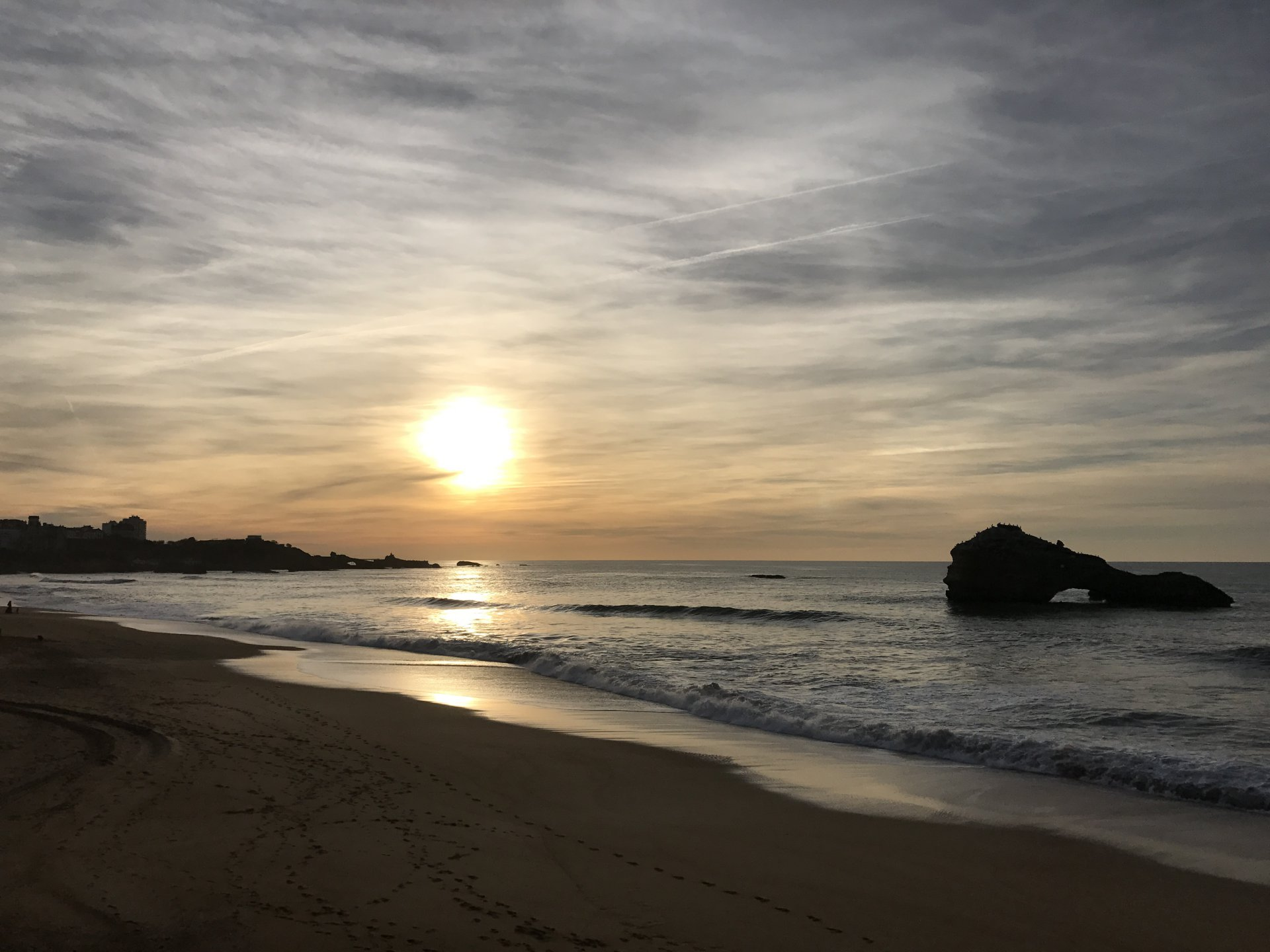 Anglet beach on foot seasonal rental, Basque Country