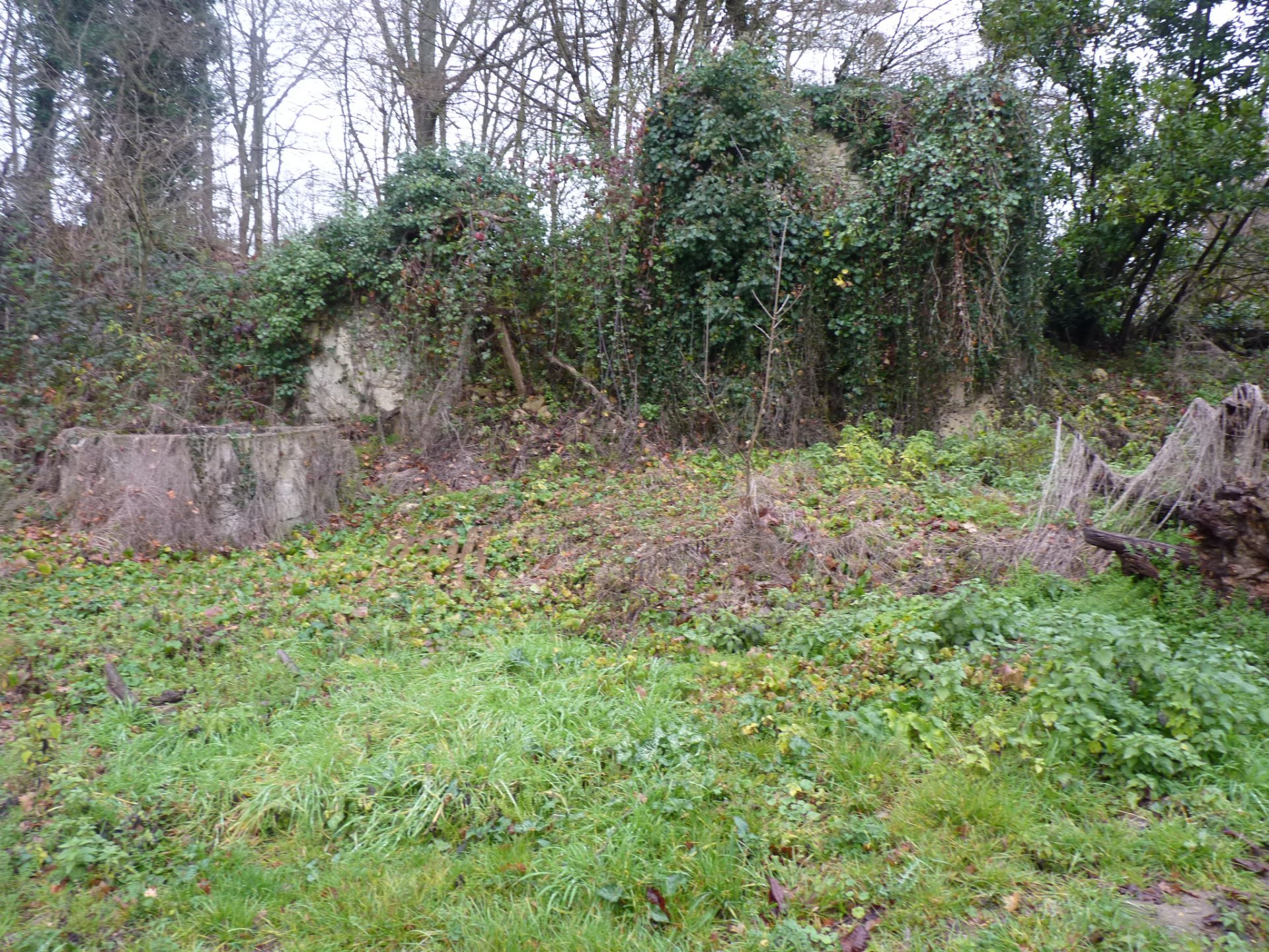 A plot of land of 1640 m² with CU to Aurignac