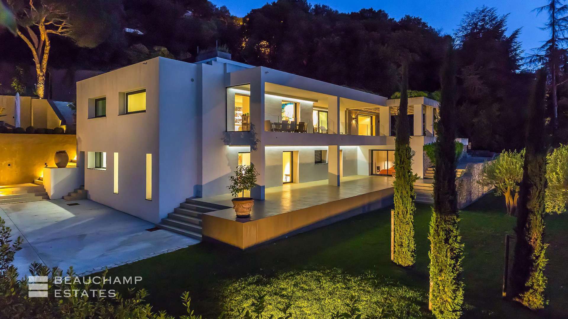 Superbe Villa Contemporaine Cannes Californie