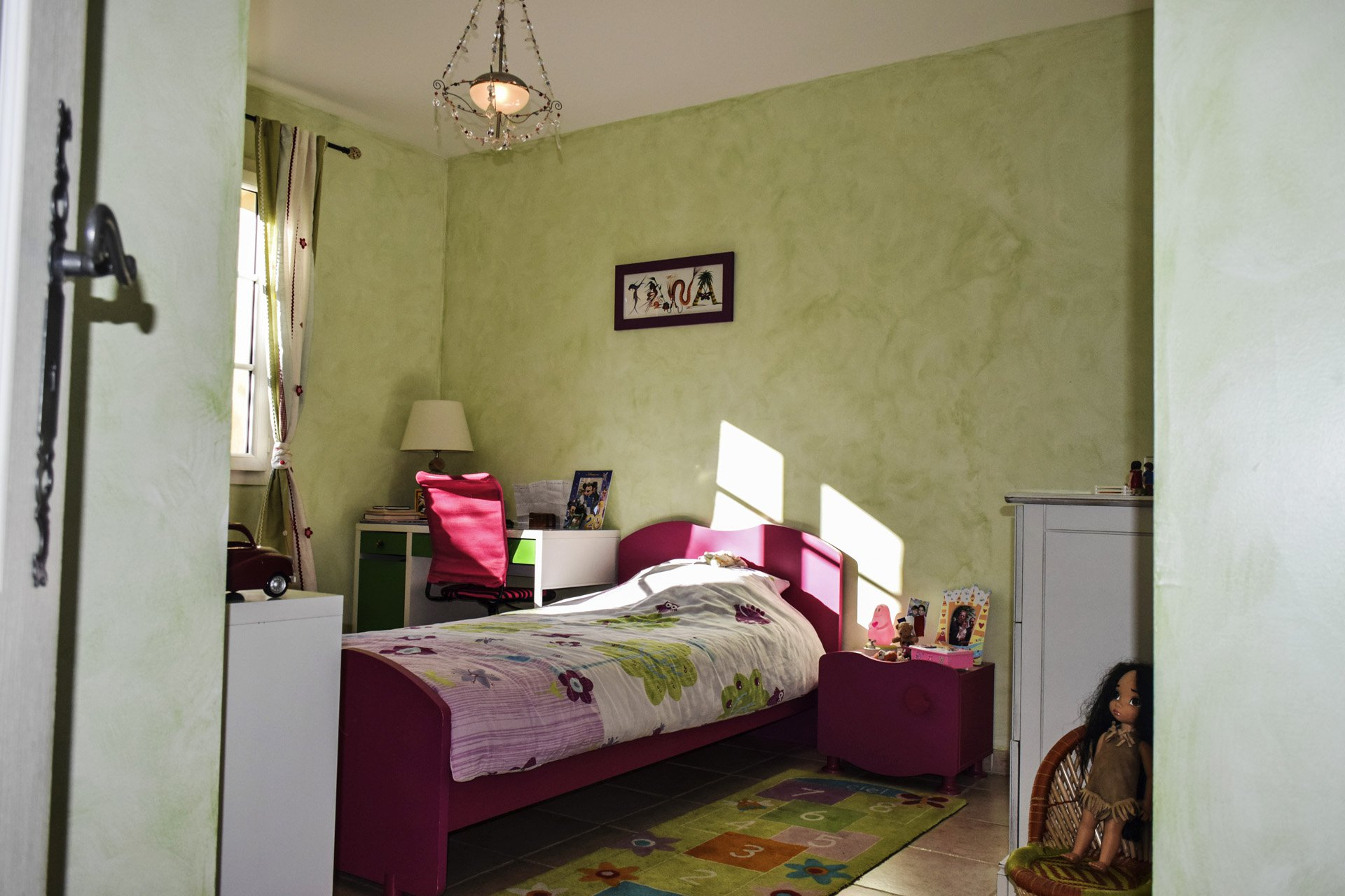 Jolie maison de qualité avec piscine chauffée Var Provence chambre