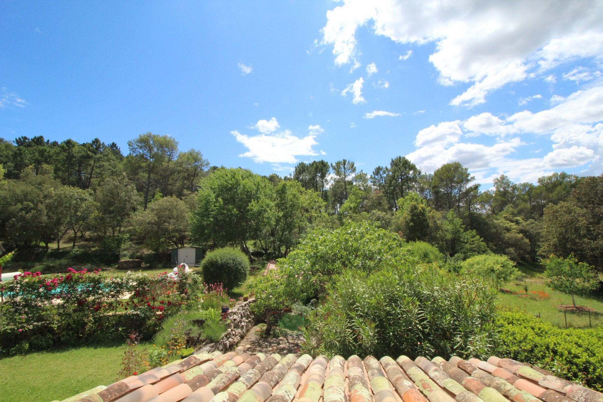 Correns, lovely village in Green Provence,