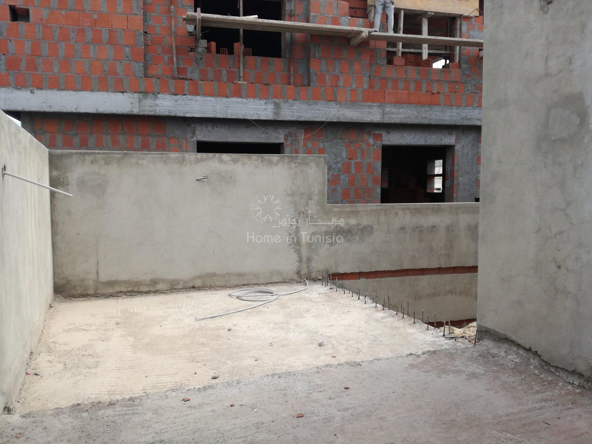 Villa en cours de construction