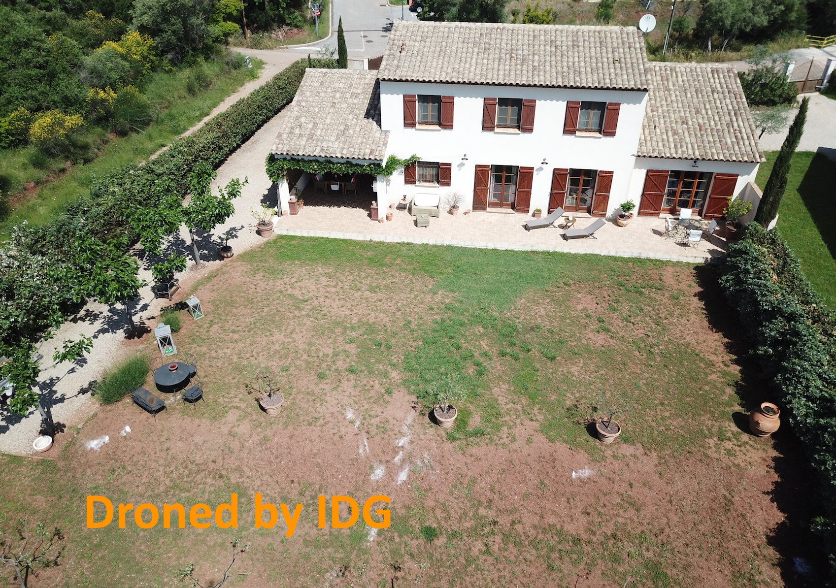 Le Luc, a lovely bastide at 35 minutes from the seaside