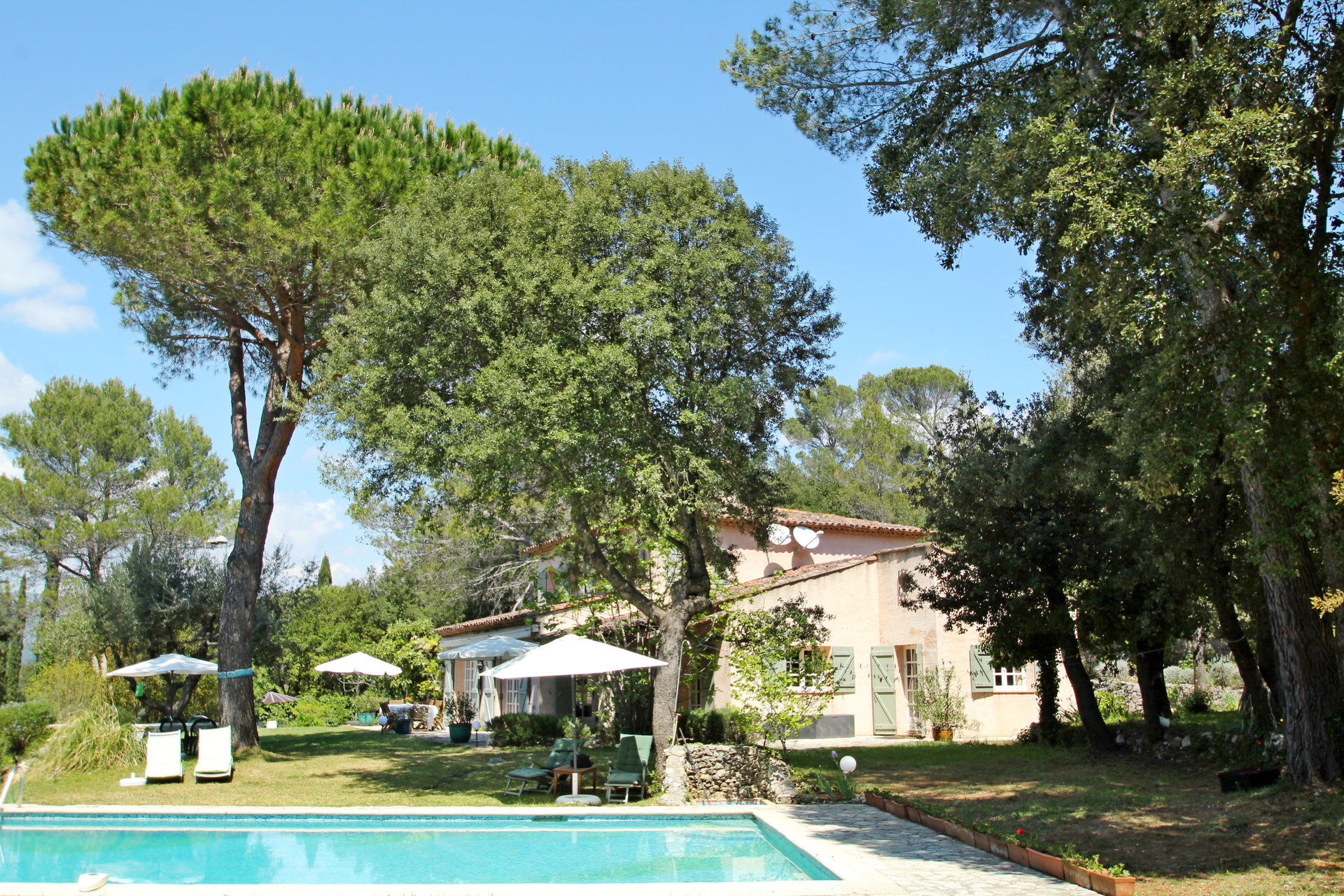 Montauroux: charming villa with pool