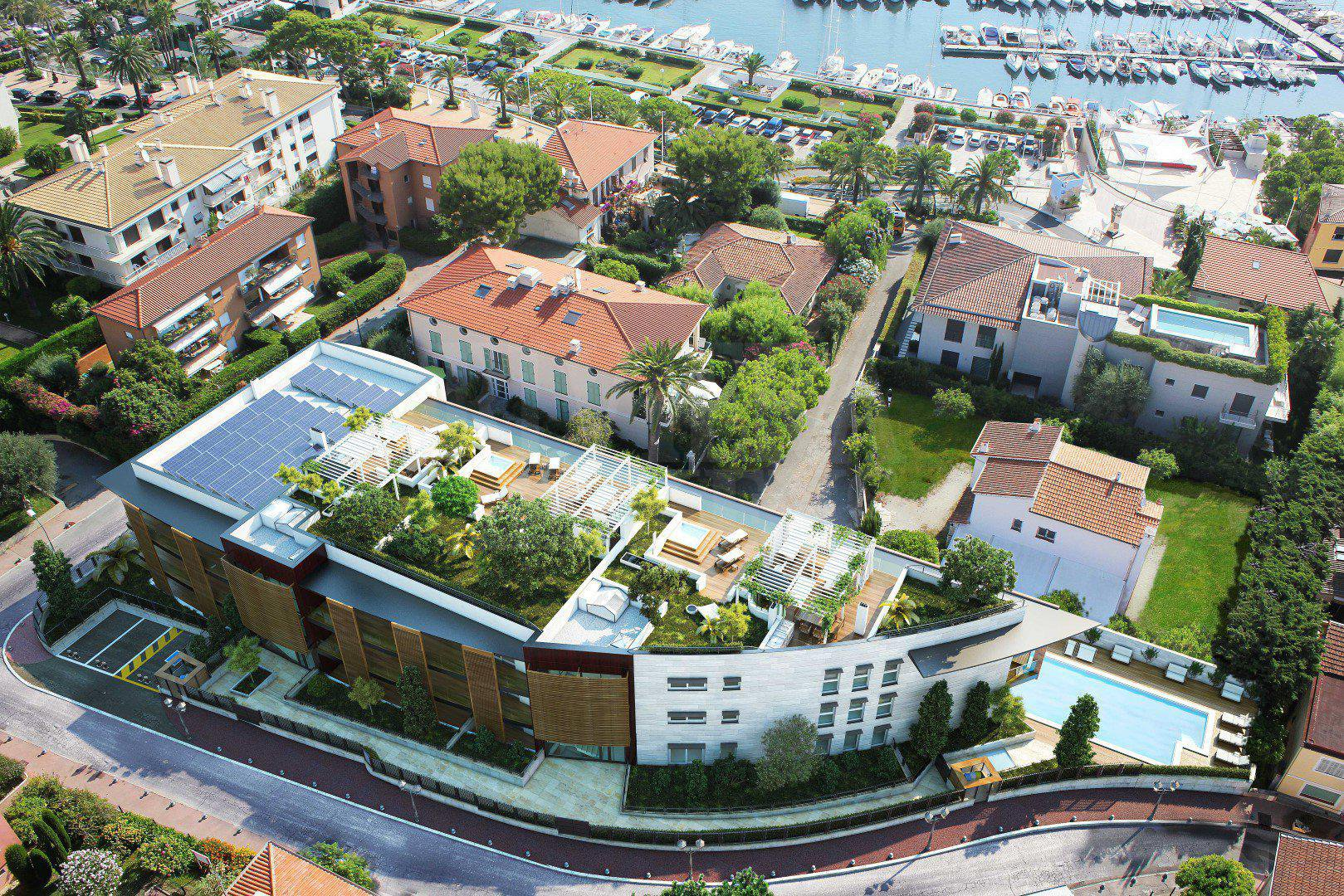 At Saint-Jan-Cap-Ferrat, a new outstanding and luxurious real estate development