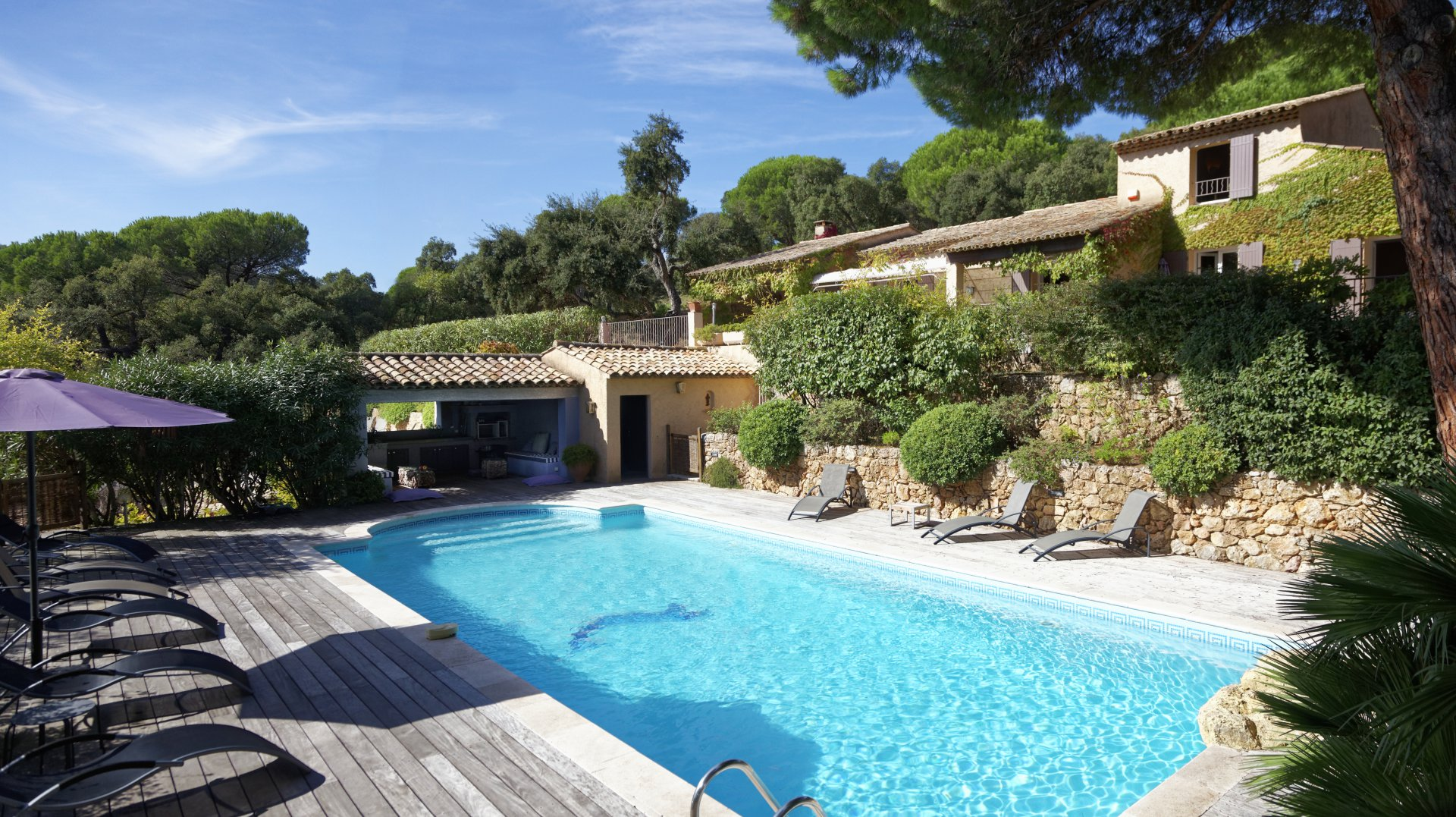 Property sea view with helipad Ramatuelle Var Provence