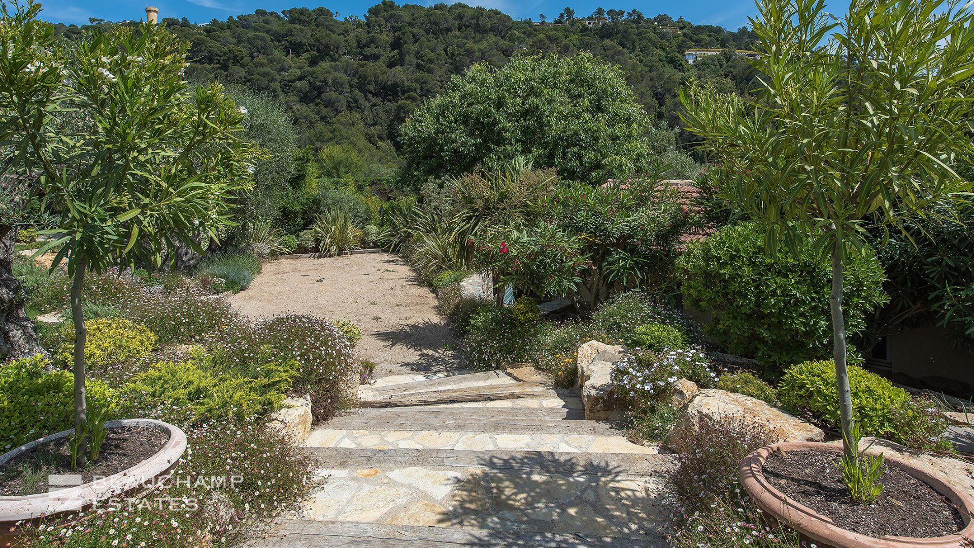 Provencal 6 Bedroom Villa Heights of  Cannes with Sea View