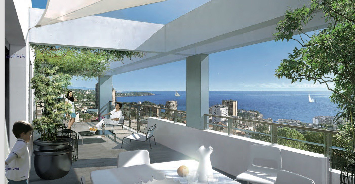 BEAUSOLEIL - French Riviera - 2 bed Apartment with sea view at the entrance of Monaco
