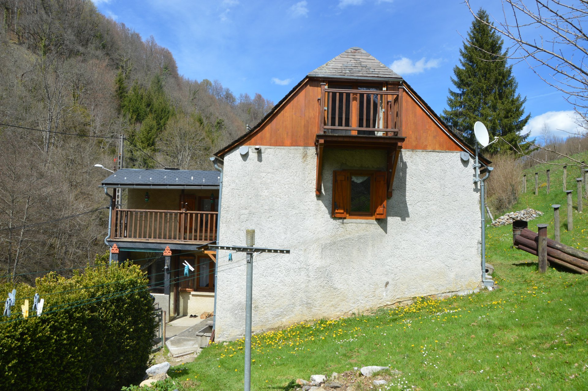 Double Chalet in Ariege