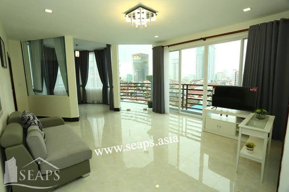 LUXURY 1 AND 2 BEDROOM APARTMENTS BKK2 FOR RENT