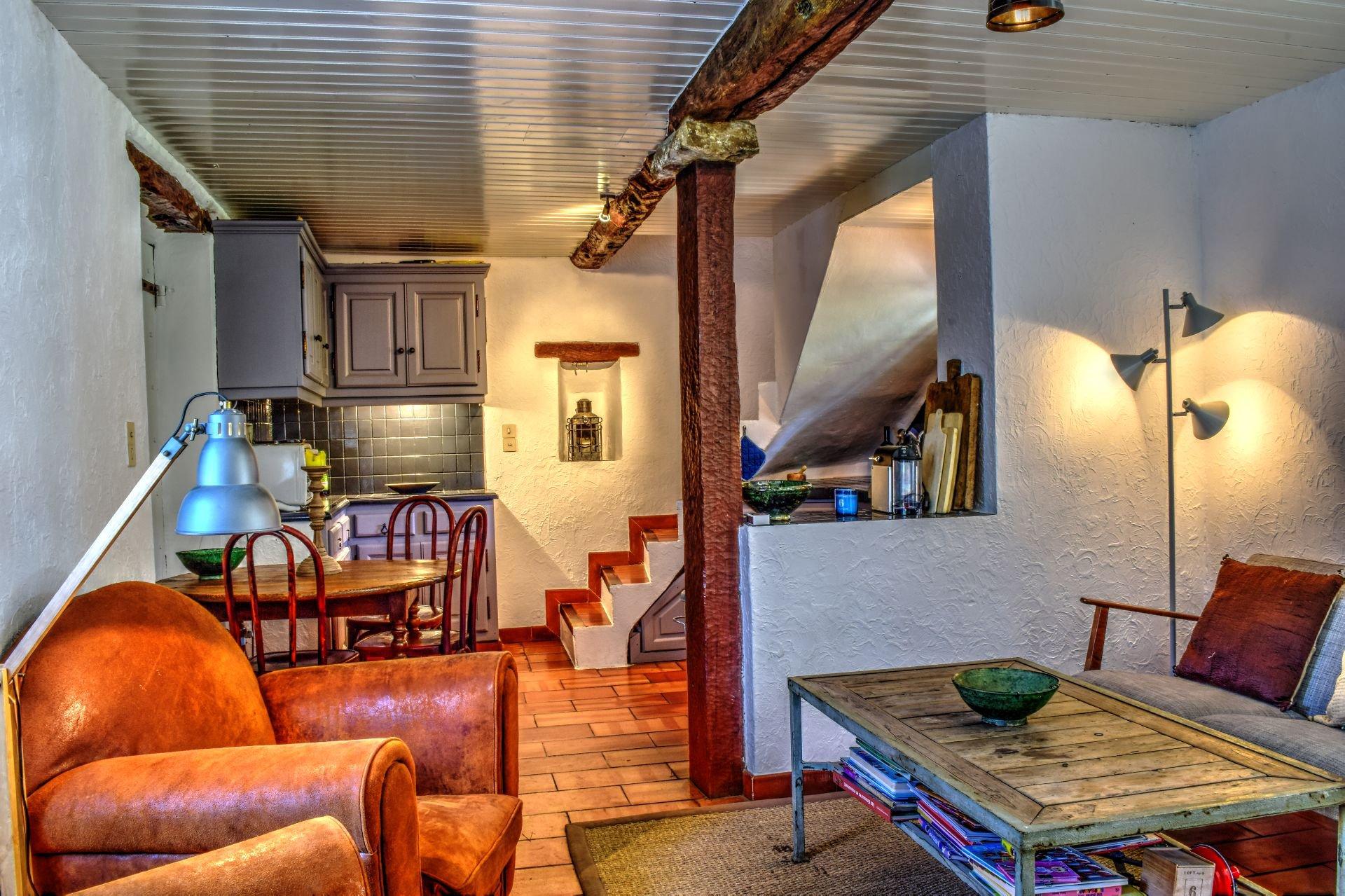 Open plan kitchen, Lorgues, Var, Provence
