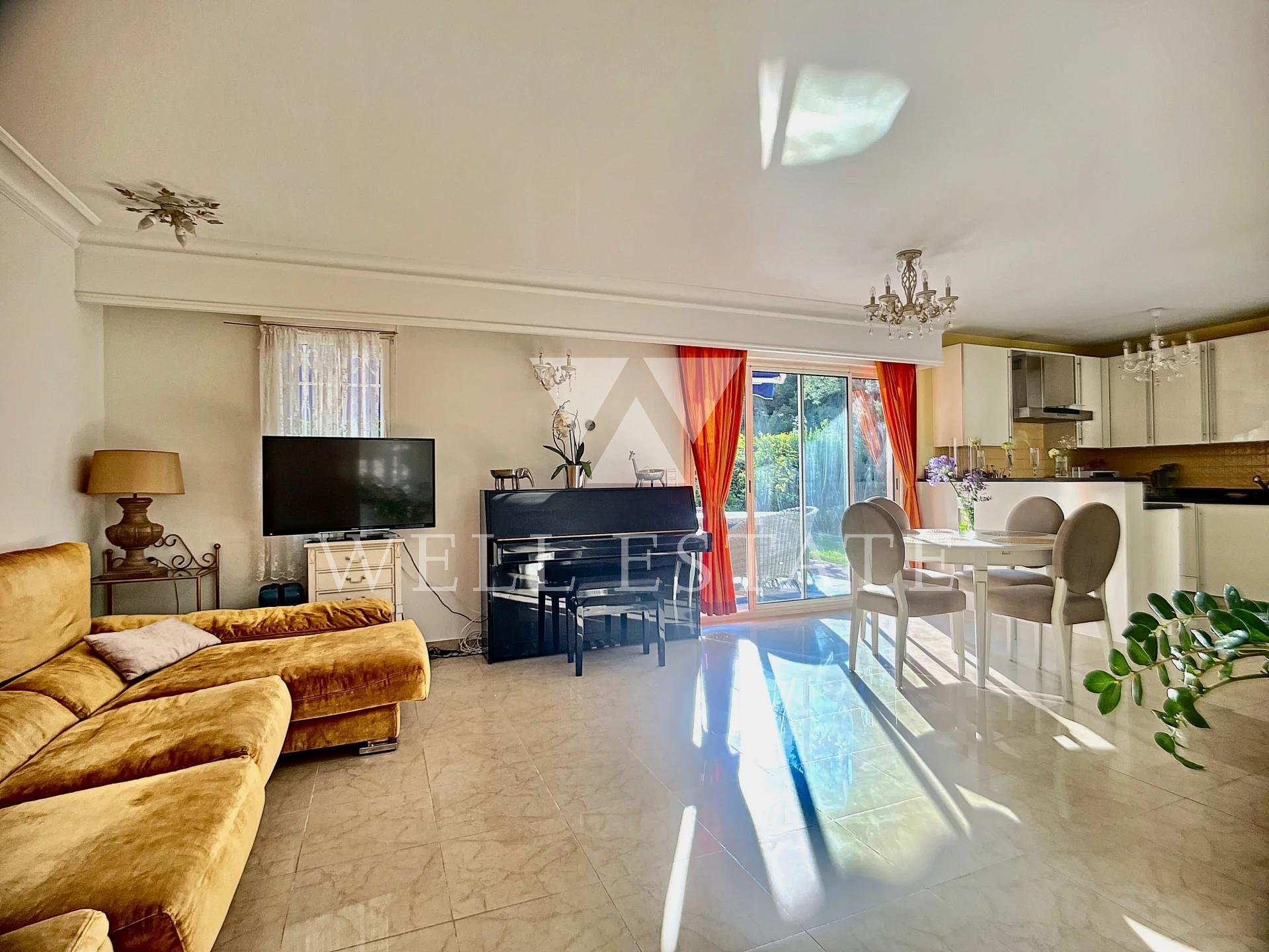 CAP D'ANTIBES 3 BEDROOM APARTMENT GATED RESIDENCE SWIMMING POOL PARC