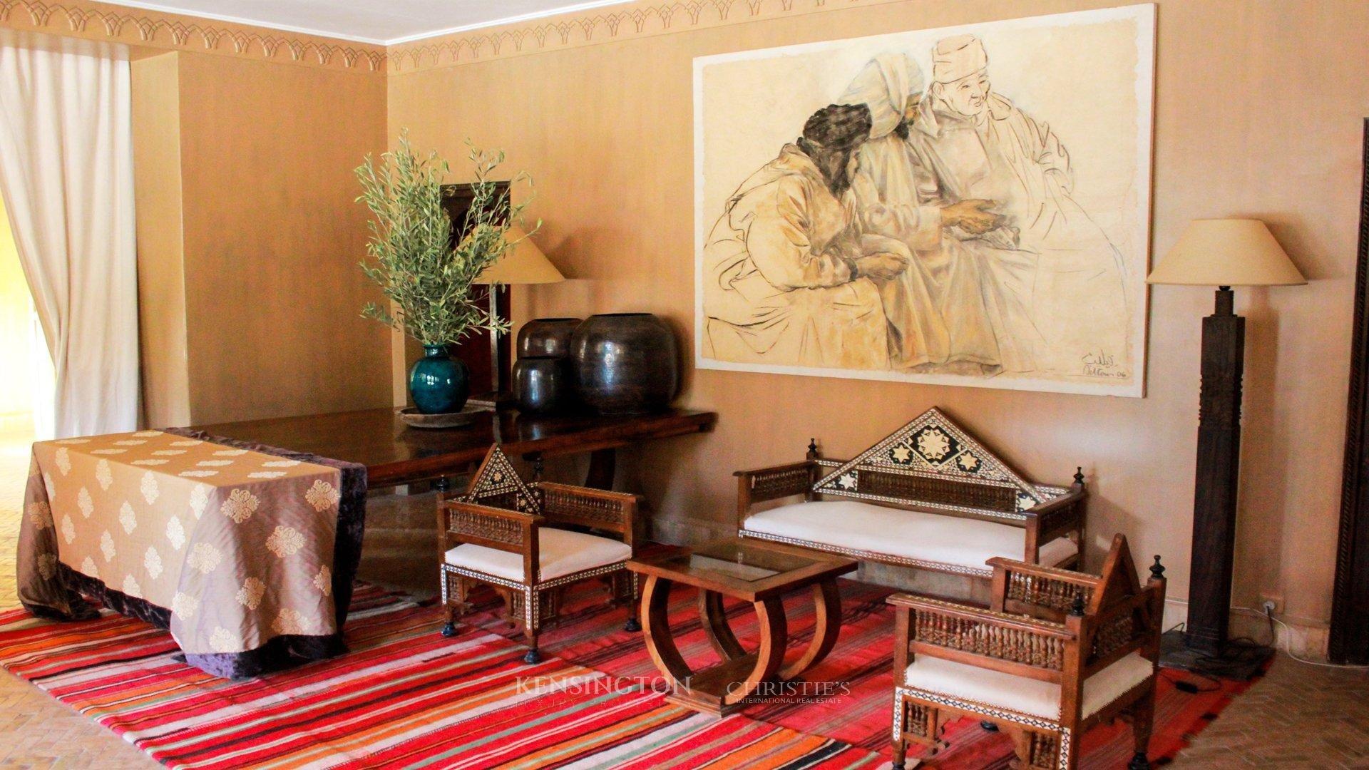 KPPM00652: Jnamena Villa Luxury Villa Marrakech Morocco