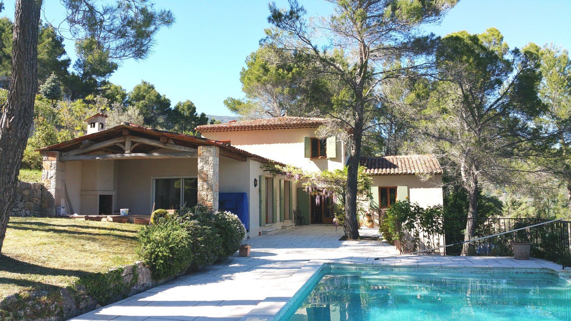 Seilans: mooie villa met uitzicht